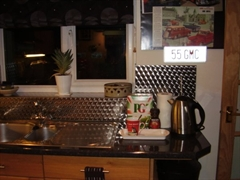 stainless steel kitchen panels