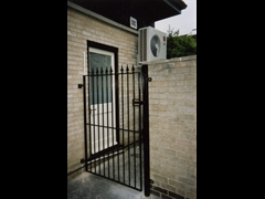 Security Gate, Fabricated and Installed