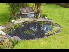 Mesh Pond Cover