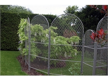 Trellis screens made from Expanded Mild Steel mesh
