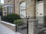 New metal railings (Click to view)